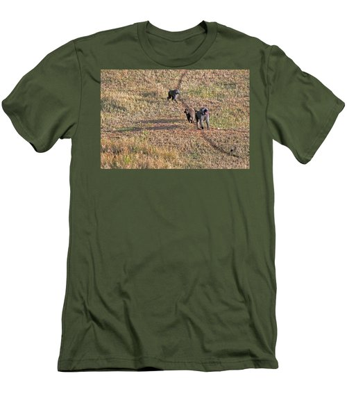 Early Morning Stroll Men's T-Shirt (Athletic Fit)