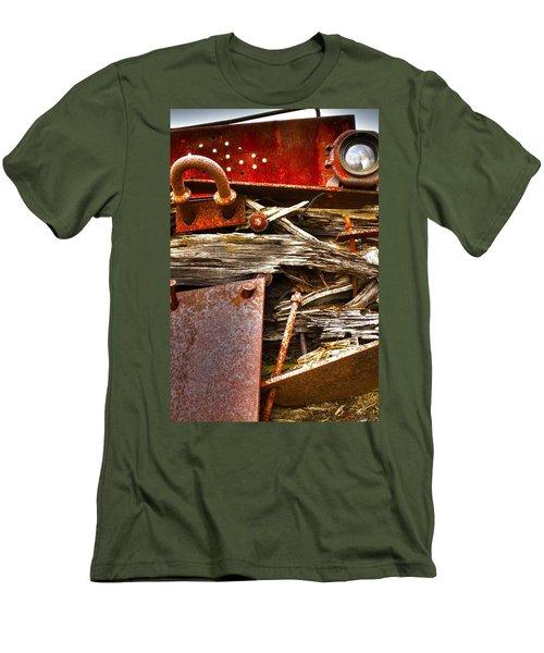 Eckley Faces Men's T-Shirt (Athletic Fit)