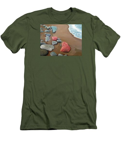 Edge Of America Men's T-Shirt (Slim Fit)