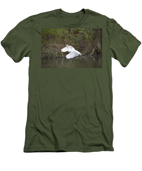 Over The Lagoon Men's T-Shirt (Athletic Fit)