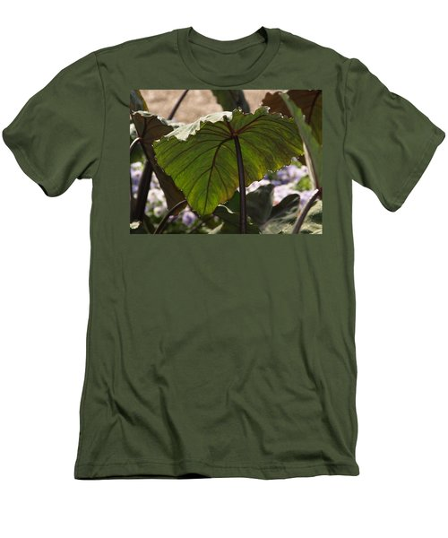 Elephant Ear Men's T-Shirt (Athletic Fit)