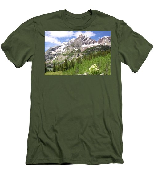 Elk Mountains Men's T-Shirt (Athletic Fit)