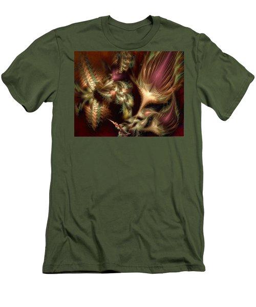 Men's T-Shirt (Slim Fit) featuring the digital art Elysian by Casey Kotas