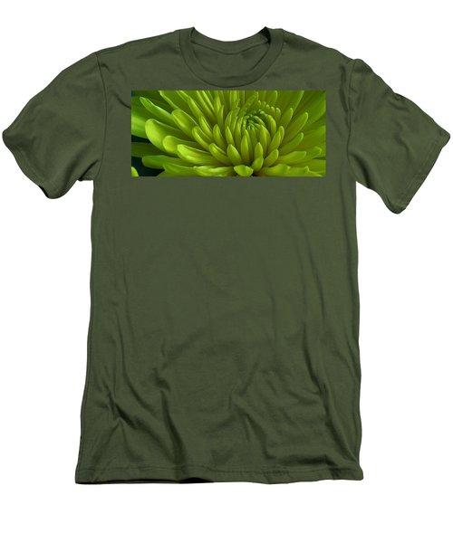 Emerald Dahlia Men's T-Shirt (Slim Fit) by Bruce Bley