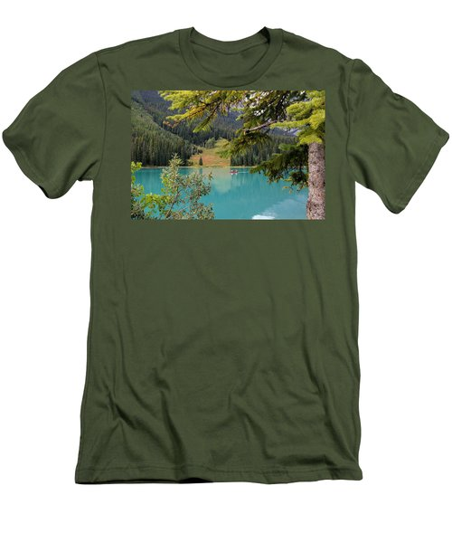 Emerald Lake British Columbia Men's T-Shirt (Athletic Fit)