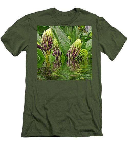 Emerging Men's T-Shirt (Slim Fit) by Debbie Portwood