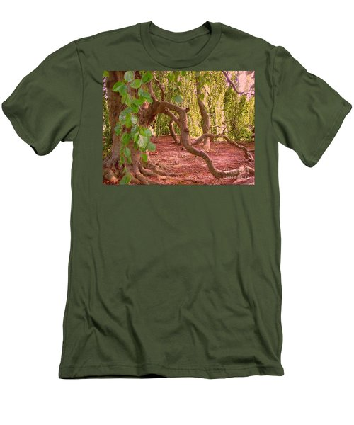 Men's T-Shirt (Slim Fit) featuring the photograph Enchanted by Becky Lupe
