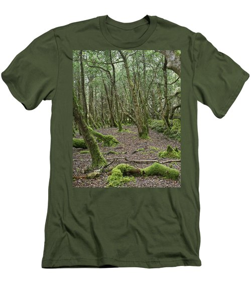 Men's T-Shirt (Slim Fit) featuring the photograph Enchanted Forest by Hugh Smith