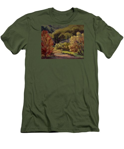 End Of The Road Men's T-Shirt (Slim Fit) by Jane Thorpe