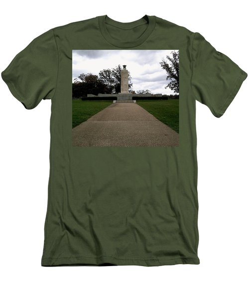 Eternal Light Peace Memorial Men's T-Shirt (Athletic Fit)