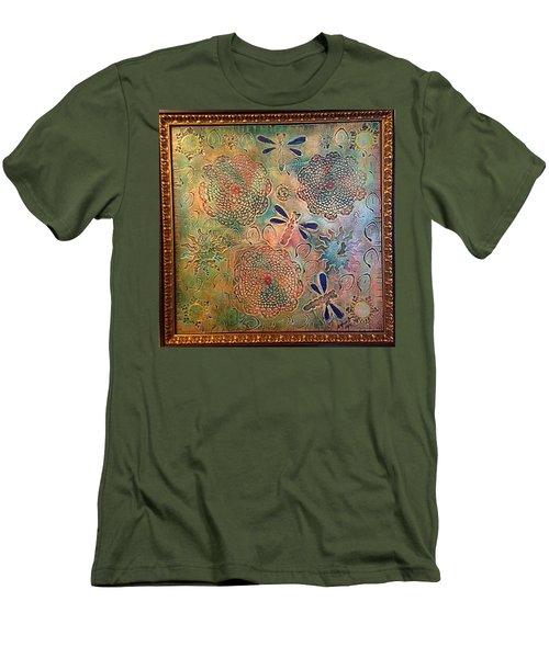 Eternal Sun By Alfredo Garcia  Men's T-Shirt (Athletic Fit)