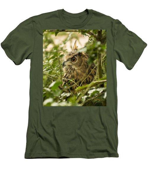Eurasian Eagle-owl 2 Men's T-Shirt (Athletic Fit)