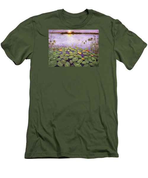Everglades Evening Men's T-Shirt (Athletic Fit)