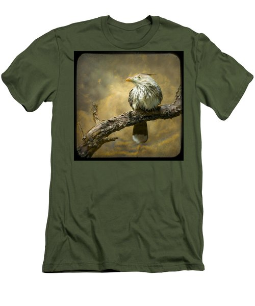 Exotic Bird - Guira Cuckoo Bird Men's T-Shirt (Slim Fit) by Gary Heller