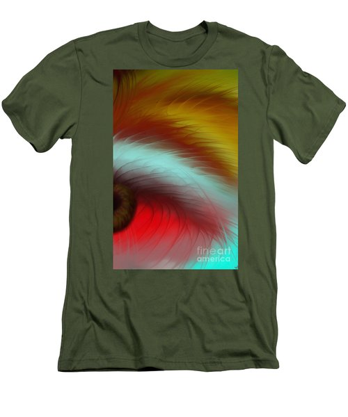 Eye Of The Beast Men's T-Shirt (Slim Fit) by Anita Lewis
