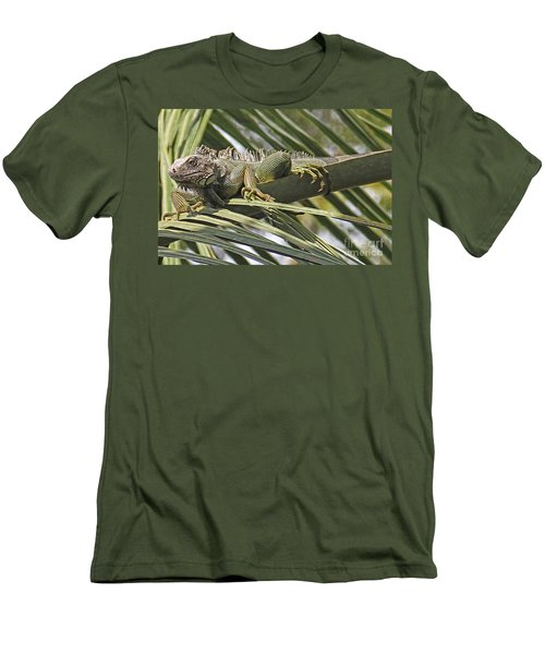 Eye Of The Iguana Men's T-Shirt (Athletic Fit)