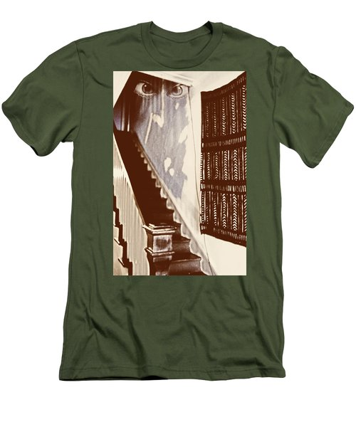 Eyes At The Top Of The Stairs Men's T-Shirt (Athletic Fit)