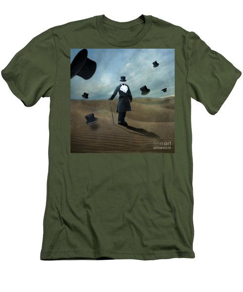 Faceless Men's T-Shirt (Slim Fit) by Juli Scalzi