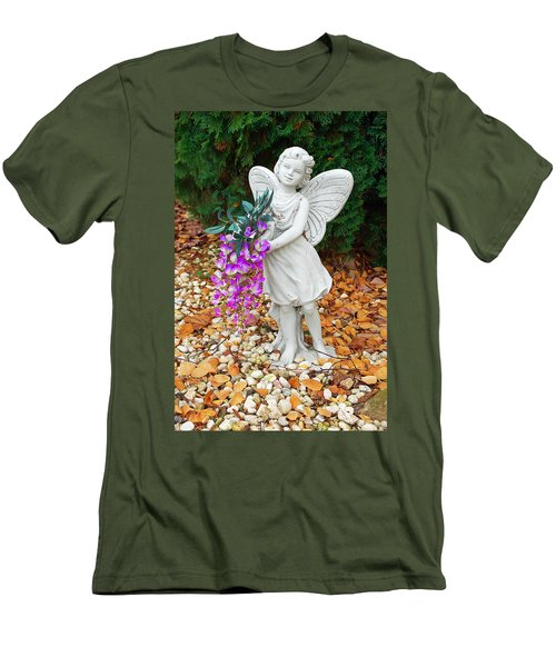 Men's T-Shirt (Slim Fit) featuring the photograph Fairy by Aimee L Maher Photography and Art Visit ALMGallerydotcom