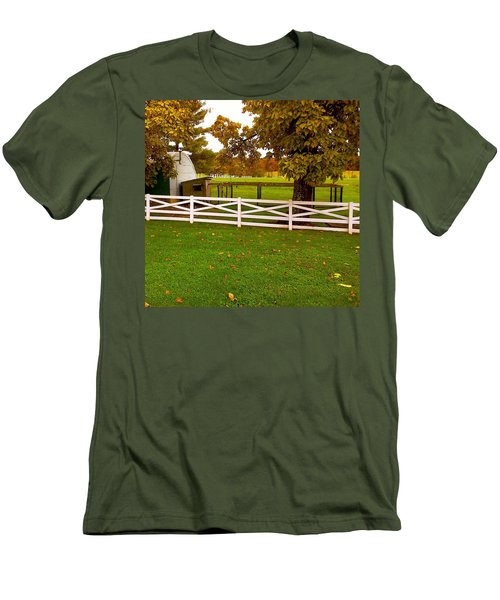 Fall At Eisenhower Farm Men's T-Shirt (Athletic Fit)