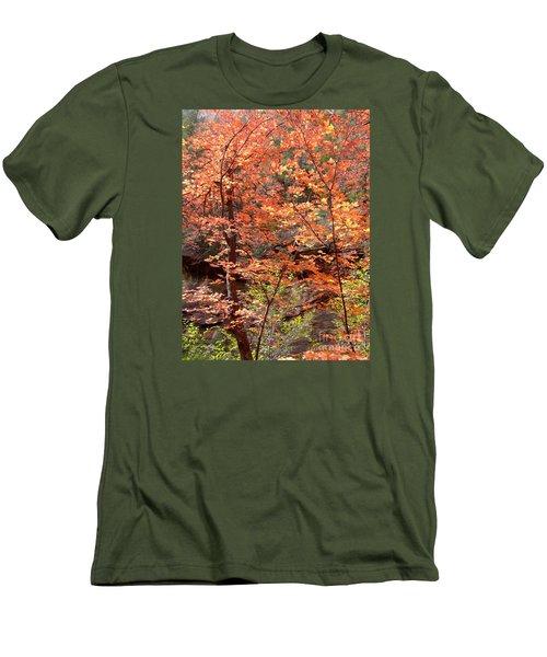 Fall Colors 6335 Men's T-Shirt (Slim Fit) by En-Chuen Soo