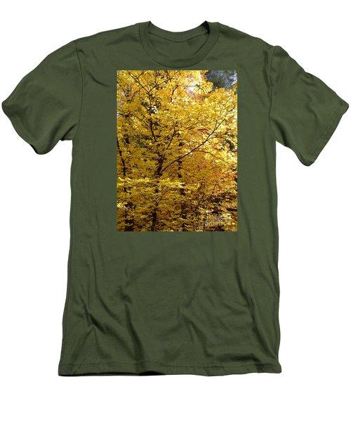 Fall Colors 6371 Men's T-Shirt (Slim Fit) by En-Chuen Soo