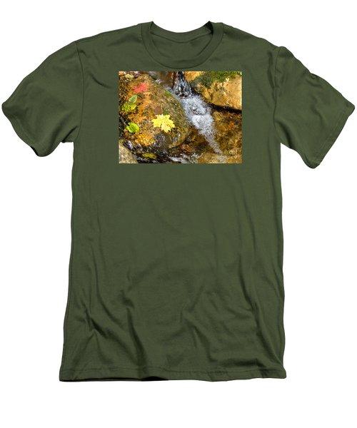 Fall Colors 6389 Men's T-Shirt (Slim Fit) by En-Chuen Soo