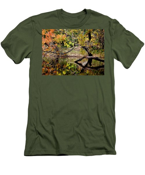 Fall From The Water Men's T-Shirt (Slim Fit)