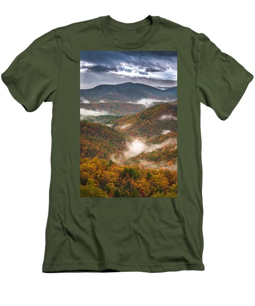 Fall Ridges Men's T-Shirt (Athletic Fit)