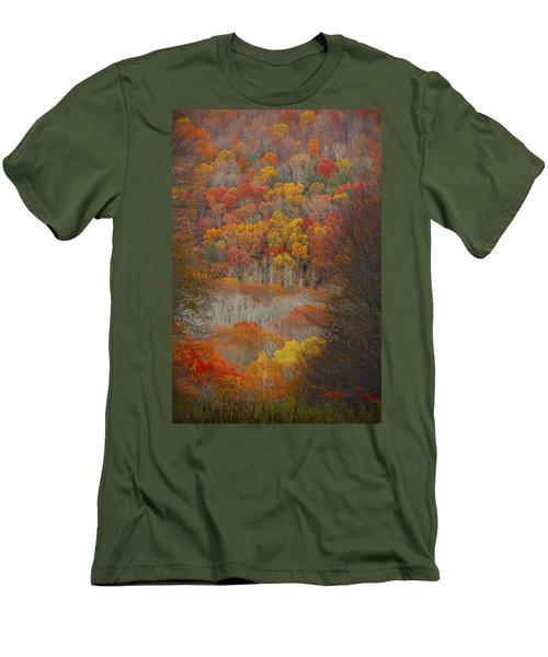 Fall Tunnel Men's T-Shirt (Slim Fit) by Raymond Salani III
