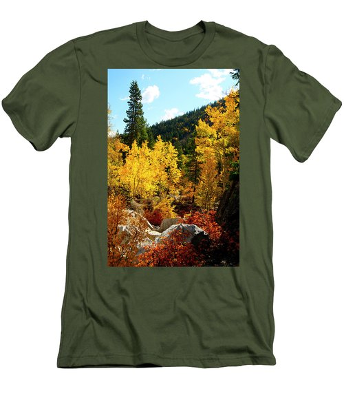 Fall2 Men's T-Shirt (Athletic Fit)