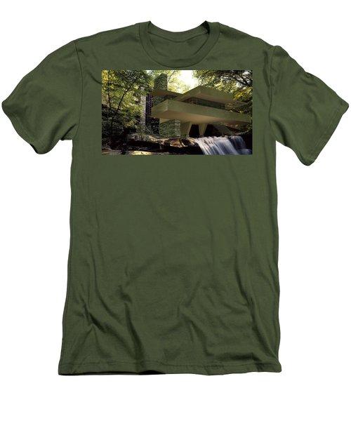 Fallingwaters Men's T-Shirt (Athletic Fit)