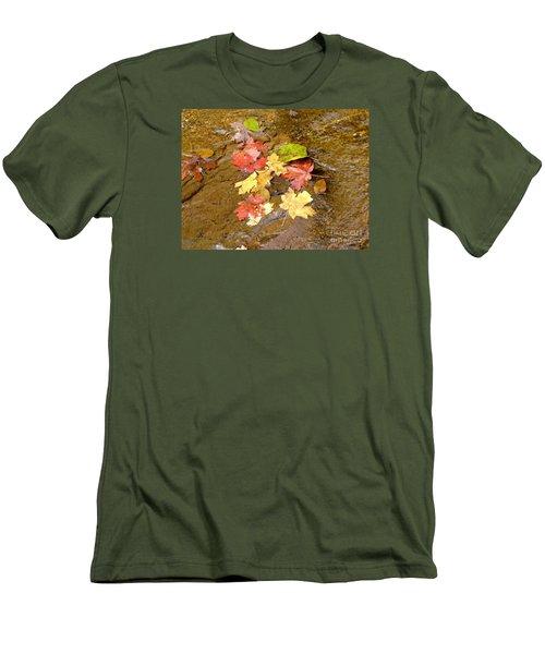 Falls Colors 6349 Men's T-Shirt (Slim Fit) by En-Chuen Soo