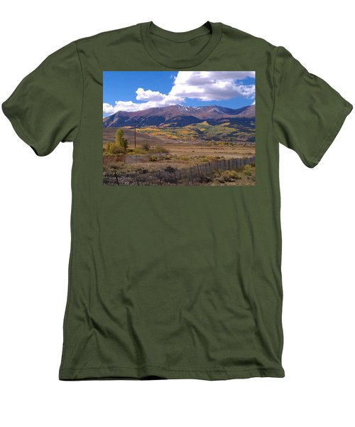 Fenced Nature Men's T-Shirt (Slim Fit)
