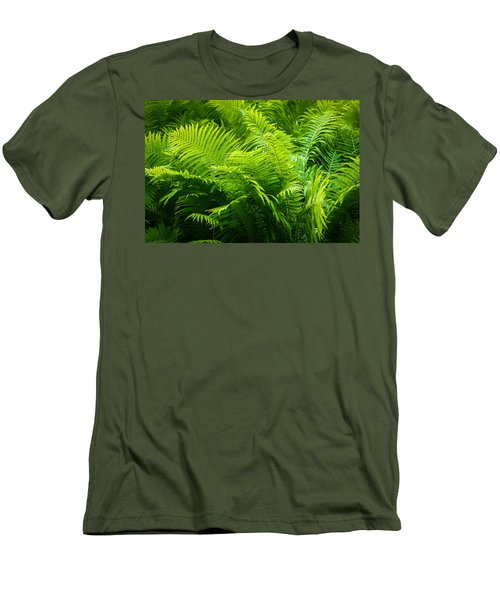Ferns 1 Men's T-Shirt (Athletic Fit)