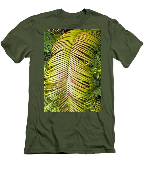 Men's T-Shirt (Slim Fit) featuring the photograph Ferns by Kate Brown
