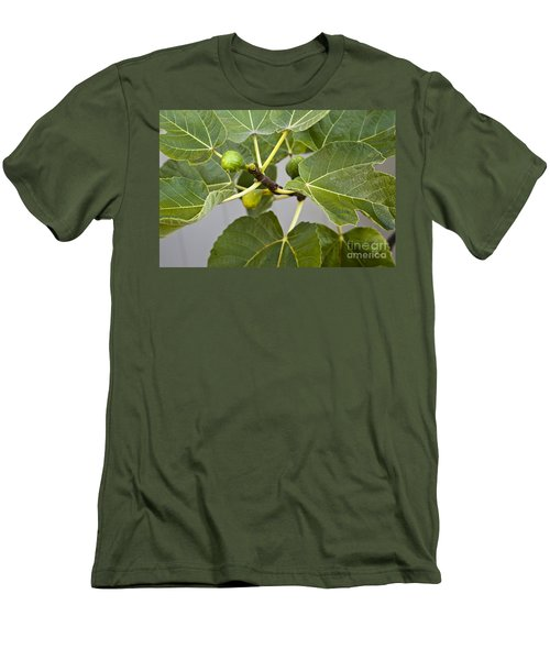 Men's T-Shirt (Slim Fit) featuring the photograph Figalicious by David Millenheft