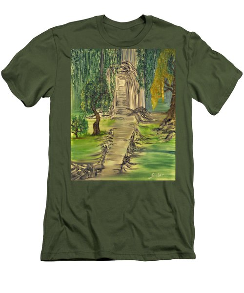 Finding Our Path Men's T-Shirt (Athletic Fit)