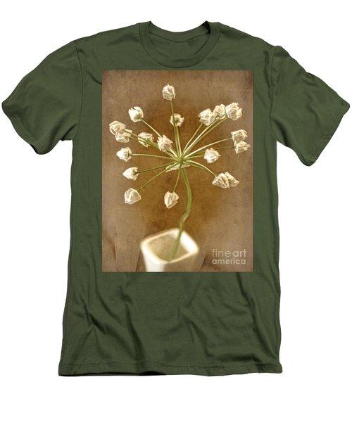 Firecracker Men's T-Shirt (Slim Fit) by Peggy Hughes