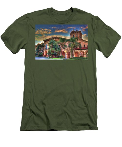 Men's T-Shirt (Slim Fit) featuring the photograph First Morning Glow by Gary Holmes