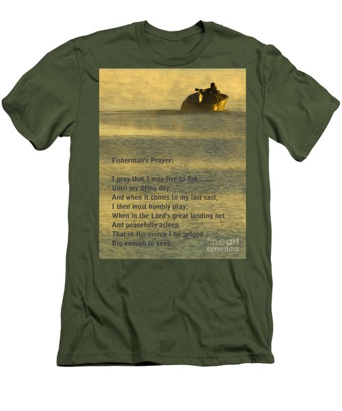 Fisherman's Prayer Men's T-Shirt (Slim Fit) by Robert Frederick
