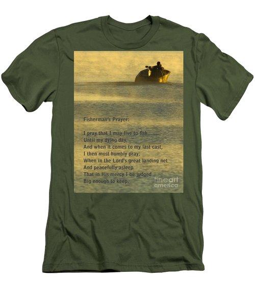 Fisherman's Prayer Men's T-Shirt (Athletic Fit)