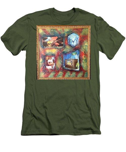 Flash Generation By Alfredo Garcia Men's T-Shirt (Athletic Fit)