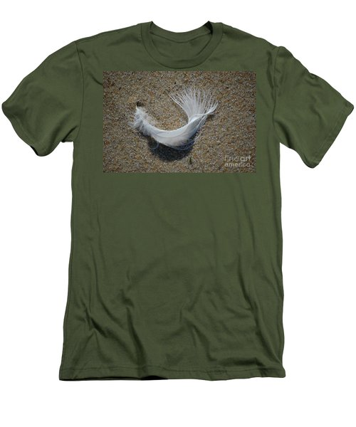 Men's T-Shirt (Athletic Fit) featuring the photograph Flight by Christiane Hellner-OBrien