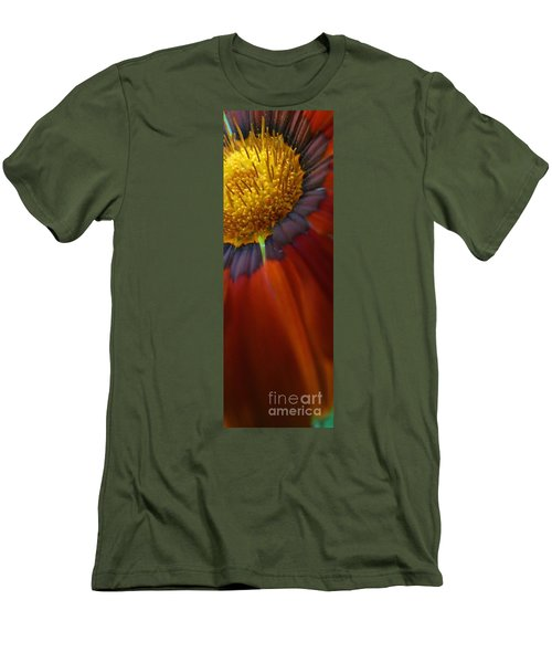 Men's T-Shirt (Slim Fit) featuring the photograph Flower by Andy Prendy