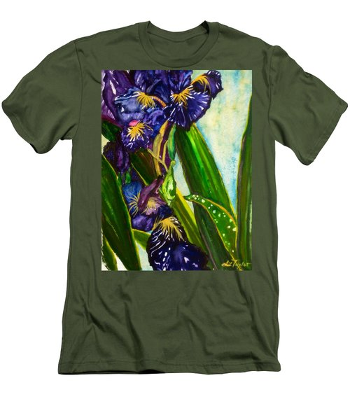 Flowers In Your Hair II Men's T-Shirt (Athletic Fit)