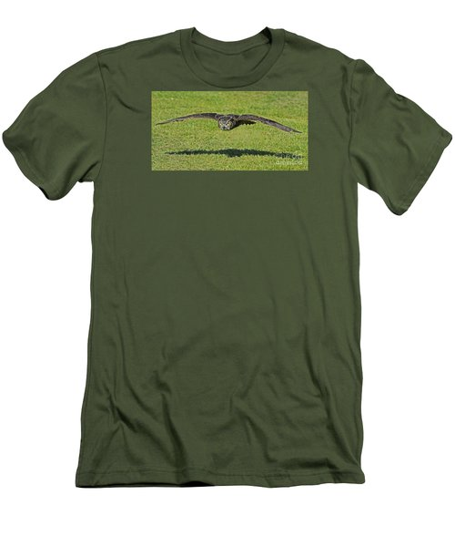 Flying Tiger... Men's T-Shirt (Slim Fit) by Nina Stavlund