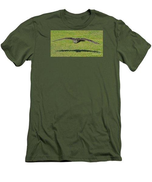 Flying Tiger... Men's T-Shirt (Athletic Fit)