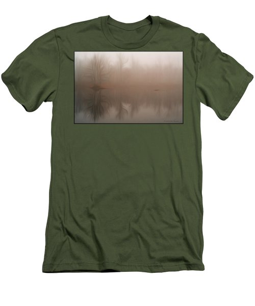 Foggy Reflection Men's T-Shirt (Athletic Fit)