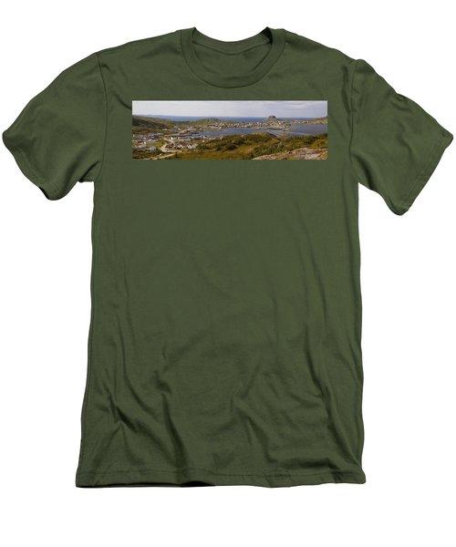 Fogo Men's T-Shirt (Slim Fit) by Eunice Gibb